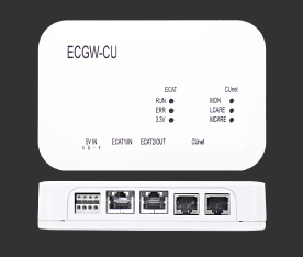 ECGU-CU EtherCAT CUNet ゲートウェイ